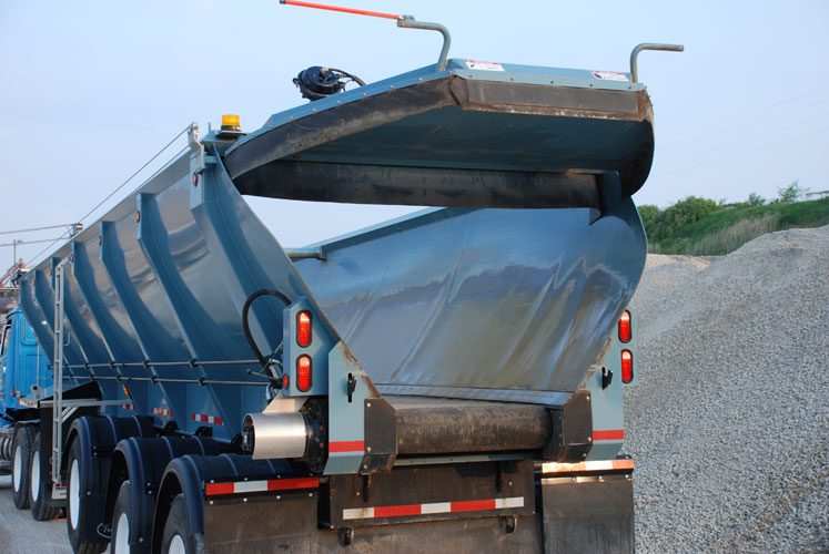 gravel for parking lots  road construction  driveways