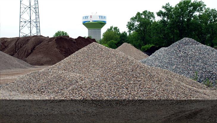 aggregates supply ontario topsoil gravel sand