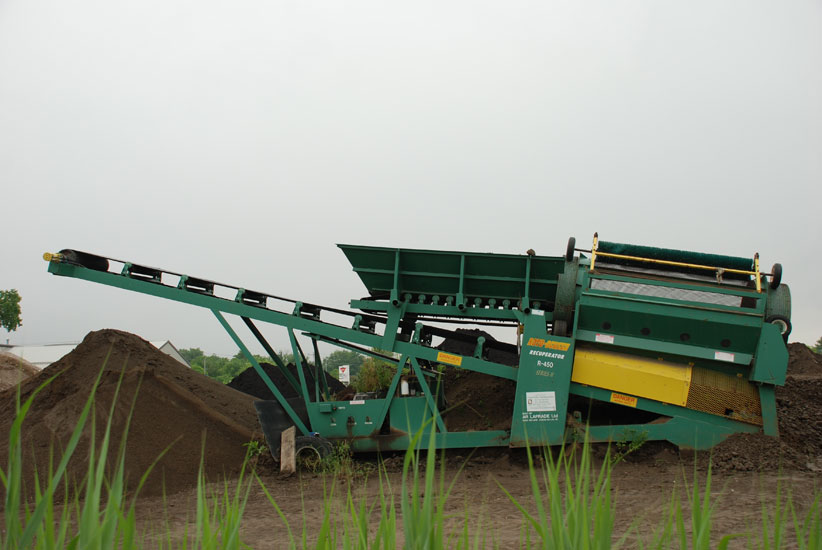 Dirt screener pictures to pin on pinterest pinsdaddy for Topsoil screener